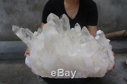 24300g (53.5lb) Spécimen Tibétain Naturel Beau Clair De Cluster De Cristal De Quartz