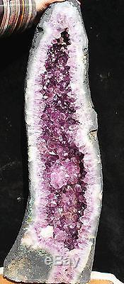 24370g Module De Cristal De Quartz D'amethystes Naturels Échantillon D'affichage