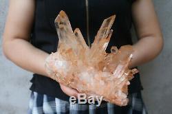 2470g (5.4lb) Naturel Beau Clair De Cristal De Quartz Cluster Tibétain Spécimen