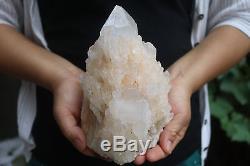 2480g Naturel Squelettique Elestial Clear Quartz Cristal Cluster Spécimen Tibet # 902