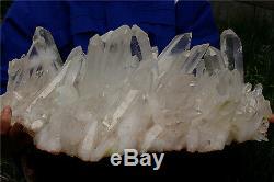 26000g Naturel Tibétain Spécimen Minéral Point Cluster Cluster De Cristal Clair