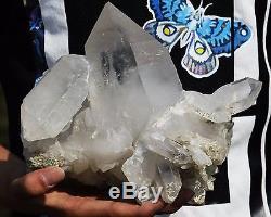 2626g Nouveau Trouver Unique Elements Squelettiques Quartz Quartz Spécimen