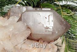 29,74 Lb Aaa +++ Naturel Spécimen De Grappes De Cristal Quartz Squelettique Squelettique