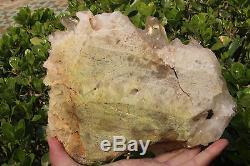 3060g Naturel Tibétain Clear Quartz Crystal Cluster Point Minéral Spécimen