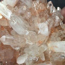 3175g Grand Clair Naturel Rose Quartz Cluster Rugueux De Guérison Des Échantillons