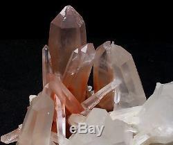3367g A + Rare Naturel Nouvelle Recherche Rouge Quartz Cristal Cluster Spécimen Reiki Wicca