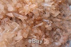 34000g (74.8ib) Belle Guérison De Spécimen De Cristal Transparent Quartz Clair