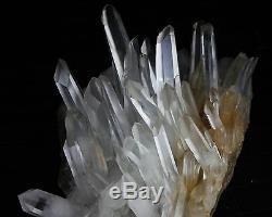 36.9lb Nouvelle Recherche Echantillon D'échantillons D'origine Naturelle De Blanc Clair De Quartz