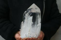 3660g A Natural Belle Clair En Cristal De Quartz Cluster Tibétain Spécimen