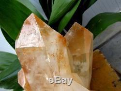 37lb Énorme Naturel Clear Quartz Crystal Cluster Points Spécimens