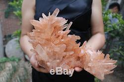 3950g Magnifiques Cluster De Cristal De Quartz Naturel Essai Tibetan # 02
