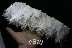 4.32lb Aaa +++ Spécimen Tibétain Blanc Naturel Clair De Noyau De Cristal De Quartz