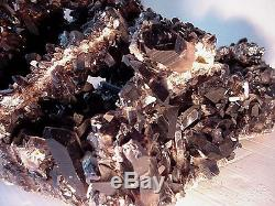 40 Lb Grandes Pointes De Cristal De Quartz Naturelles D'améthyste A + Echantillon De Roche