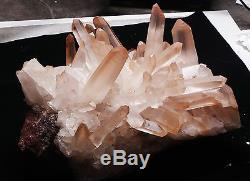 41.36lb Rare Spécimen Original De Cristal De Quartz Rose Naturel Spécimen