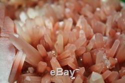 4615g A + Rare Naturel Nouvelle Recherche Rouge Quartz Cristal Cluster Specimen Reiki Wicca