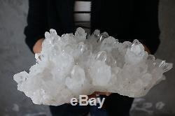 4800g Beau Spécimen Tibétain Clair Naturel De Cristal De Quartz # 02