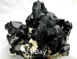 5151g Rare Beau Spécimen Tibétain Quartz Noir Quartz