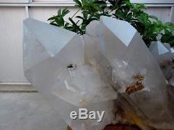 68.28lb Rare Énorme Naturel Clear Quartz Crystal Cluster Points Spécimens