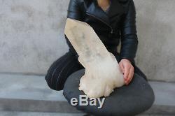 6840g (15lb) Spécimen Tibétain Beau Groupe De Cristaux De Quartz Clair Naturel