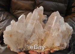 7090g De Nature Énorme, Un Cristal Cristallin À Quartz, Un Spécimen De Grappe, Un Spécimen De Reiki Hea