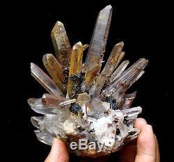 742g Nouveauté Rare Spéculum En Grappe De Quartz Quartz Naturel Spéculum / Chine