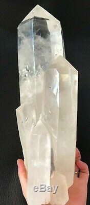8.7lb Rare Naturel Grande Clair Quartz Cluster Mineral Specimen G73