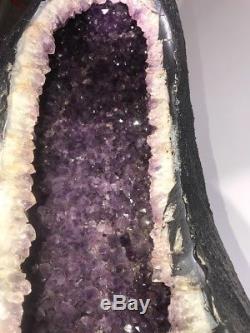 89 792 Lbs Cathédrale Améthyste Géode Quartz Cristal Décor Cluster