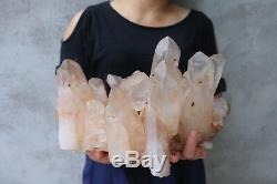 9900g (21.8lb) Spécimen Tibétain De Groupe De Cristal De Quartz Clair Clair Normal