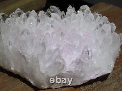 A Grade Natural Clear Quartz Crystal Cluster 314g Raw & Rough