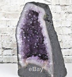 Aaa + Cathédrale À Geode En Grêle Améthyste Violet De Grande Qualité Purple 14.9 Lb