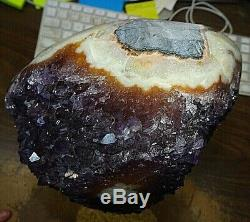 Amethyst Crystal Cathedral Geode Uruguay Bases Stalactites Munitions Sont Aaa Gd