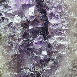 Amethyst Mini Cathédrale Geode Grotte Naturelle Cristal De Quartz Cluster 1160g 17.5cm