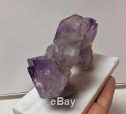 Amethyst Quartz Crystal Cluster Points Jxr Jackson's Cross Roads En Géorgie