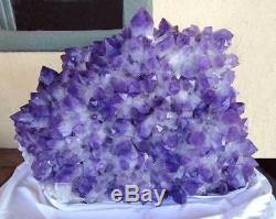 Améthyste Bolivien Stufe Bolivie XXL Geode 520 KG Cristal Groupe Amethyststufe
