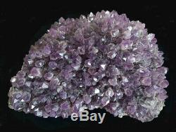 Améthyste Cristal Géant Pourpre Profond Cluster 145 Lb