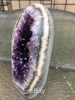 Améthyste Uruguayenne De Grappe De Cristal De Quartz Agoda Quartz