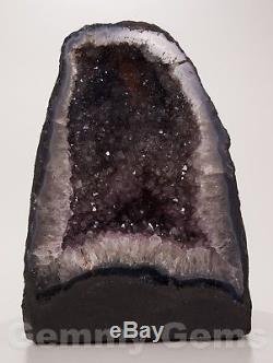B0867 13.00 32.50lb Cathédrale Améthyste Géode Quartz Cristal Druzy Cluster Décor