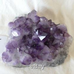 Beau. Énorme. Grappe De Cristal De Quartz Améthyste Naturel, 8 Lb.
