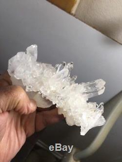 Beautiful Quartz Crystal Cluster Hot Springs Area, Arkansas
