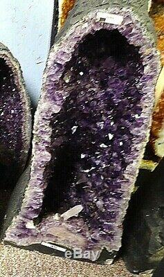 Belle Crystal Cathedral Amethyst Brésil Cluster Geode The Very Best