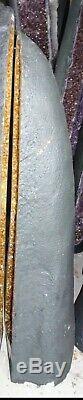 Bon Marché Grand Grand 53 Dans. Brésil Citrine Crystal Cathedral Cluster Geode