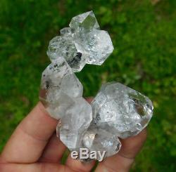 Complexe Grand Herkimer Diamant Cristal De Quartz Cluster New York New York