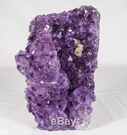Cristal D'améthyste Geode Cluster Quartz Spécimen Brésil