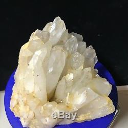 Cristal De Quartz Naturel Énorme De 21lb Spécimen Minéral Rare De Squelette Guérir De Guérison