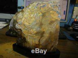 Énorme Améthyste Cristal Cluster Geode De La Cathédrale Uruguay