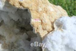 Geode Énorme Du Maroc Grand 26 Lb. Marocain Quartz Geode Cristal Cluster 1839