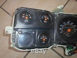 Gmc Chevy Blazer Suburban Quartz Instrument Cluster 1991-1992 Électronique