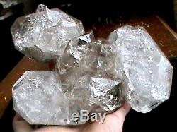 Grand 180x130x62 MM Nyc Herkimer Diamant Quartz Cristal Chaîne Pochette Cluster El1