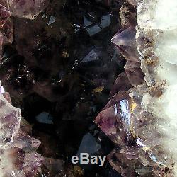 Grand Améthyste Cathédrale Grotte Géode Grotte De Cristal De Quartz Naturel 7 KG 33cm De Hauteur