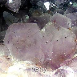 Grande Catedral D'améthyste Crystal Quartz Cluster Natural Geode Cave 6.2kg 28cm